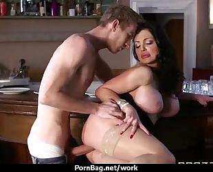 Mom working milf bonks her client 28