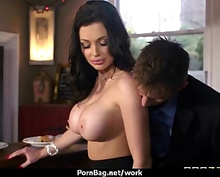 Hottest office fuck with breasty hottie 29
