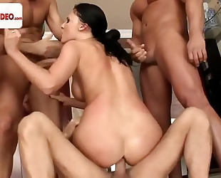 Gang gangbang addicts aletta ocean hd 1080p