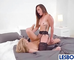 Kelsi monroe & khloe kapri beauties on camera make love in lez scene