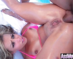 (kelsi monroe) giant a-hole oiled hot dirty slut wife have a fun anal sex video-18