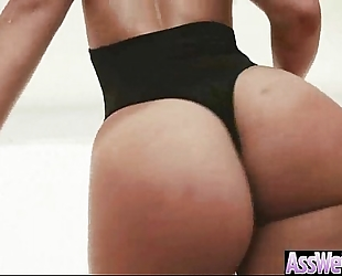 Hard anal sex with curvy large round oiled arse white bitch (kelsi monroe) movie-17