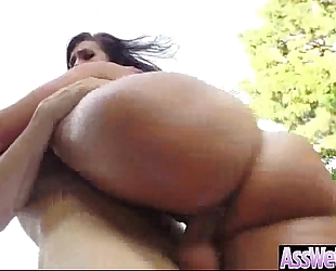 Anal unfathomable sex with large wazoo oiled bitch naughty amateur wife (kelsi monroe) mov-13
