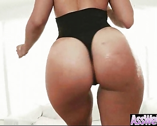 Anal hard sex scene with curvy oiled giant booty cute white women (kelsi monroe) vid-16