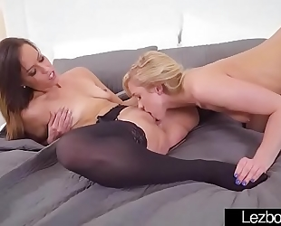 Kelsi monroe & khloe kapri hawt legal age teenagers in lez sex show on tape