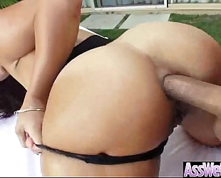 Big booty receive oiled then unfathomable anal nailed (kelsi monroe) clip-16