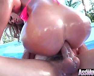 Anal sex tape with large oiled arse sluty hawt housewife (kelsi monroe) video-30
