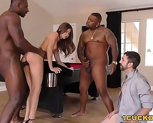 Anal bitch riley reid takes dark schlong - cuckold sessions