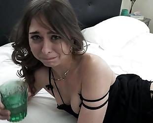 Sexy brunette hair oral pleasure and anal - livemunira.com