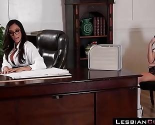Lesbian riley reid schoolgirl seduces ariella ferrera teacher ➨ lesbiancums.com