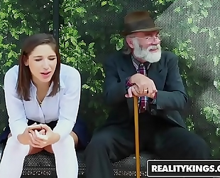 Realitykings - nubiles love giant knobs - (abella danger) - bus bench creepin