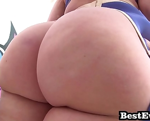 Phat booty white angels most good of anal screw super floozy mashup