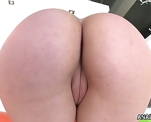 Huge round arse on mandy muse filled with chunky penis
