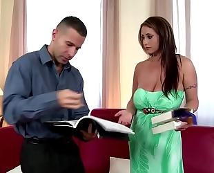 Eva notty fucks the bra salesman
