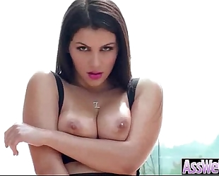 (valentina nappi) curvy oiled ass slutty white horny white wife have a pleasure on webcam anal sex video-30