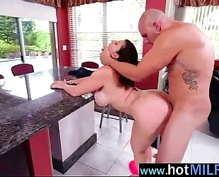 Sex tape on massive monster cock with concupiscent milf (sara jay) clip-27