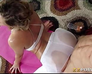 Juicy ass mia malkova fucked up nice with her yoga coach