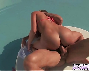 Girl (mia malkova) with large wazoo receive oiled and unfathomable nailed clip-24