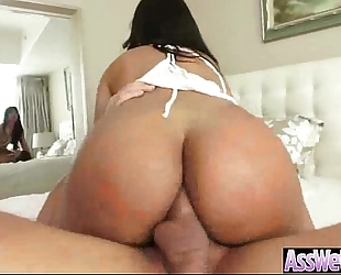 Big butt wife (rose monroe) acquire oiled and hard anal nailed on camera movie-28