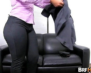 Big arse latin chick rose monroe's very 1st porno 2.1