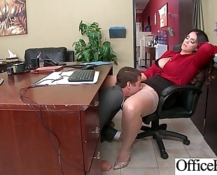 Round large love melons slutwife (alison tyler) receive group-fucked in office clip-05