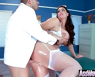 Anal intercorse with large wazoo oiled sluty housewife (alison tyler) mov-04