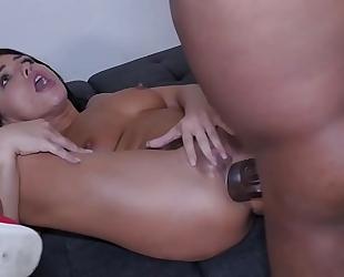 Adriana chechik painful bbc anal