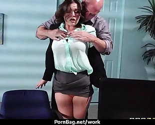 Hottest office fuck with breasty honey 13