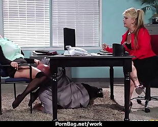 Busty working hotties getting boned from behind 13