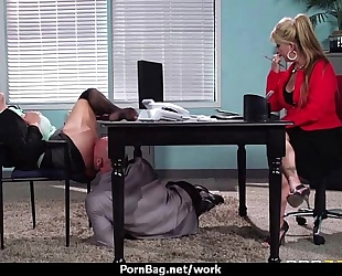 Big titted secretary bonks at the office 12