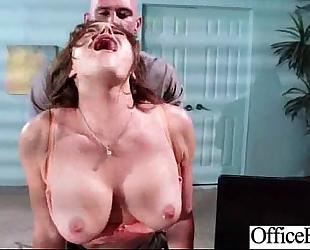 Slut office dirty slut wife (krissy lynn) with melon large zeppelins receive nailed video-19