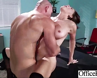 (krissy lynn) large scoops horny white wife receive hard style nailed in office video-23