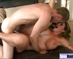 Big juggs horny white wife (eva notty) in astonishing sex act on tape movie-16