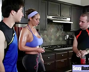 Busty milf slutty wife (eva notty) group sex hardcore in front of camera movie-12