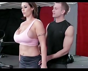 What is her name gym workout sexy