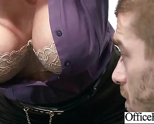 (eva notty) office white wife with large mounds group sex in hard style act vid-20