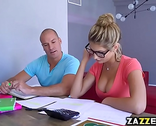 Sean licking down august ames body begins with her bazookas