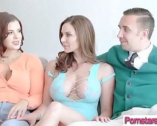 Naughty pornstar (keisha grey & kendra lust) love hard lengthy mamba wang in her vid-16