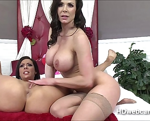 Girl on white wife act with kendra and toys