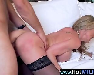 Hot aged slutwife (brandi love) have a fun hard sex with massive dong man vid-15