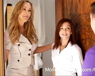 Brandi love - mama train son - greater amount on footjobs-tube.com (free registration)
